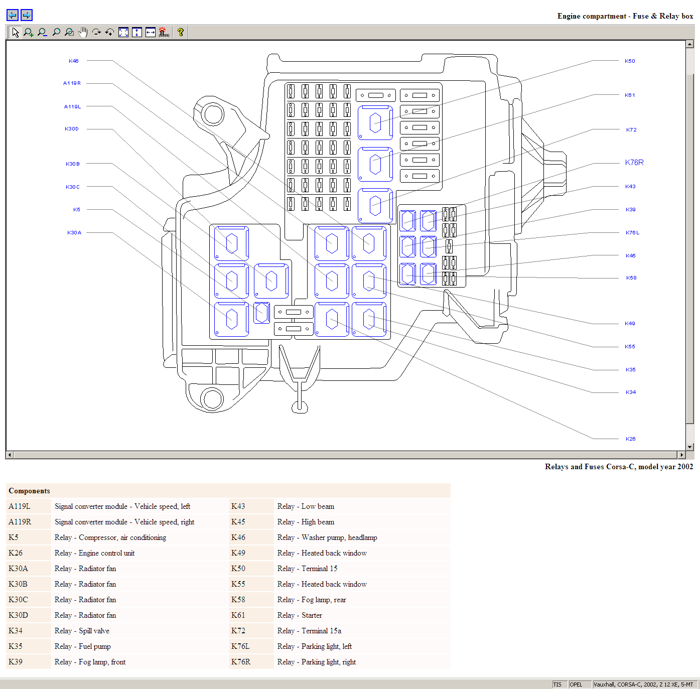 Corsa C Sxi Fuse Box Auto Electrical Wiring Diagram Sennheiser Cl1