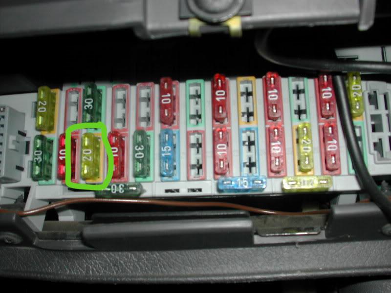 astra h fuse box cigarette lighter