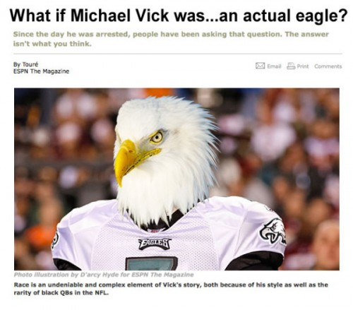 The best of the white Michael Vick Photoshops