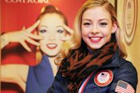Olympian Gracie Gold on Red Lipstick and Ice-Proof Makeup