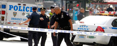 Multiple people shot outside NYC landmark (Reuters)