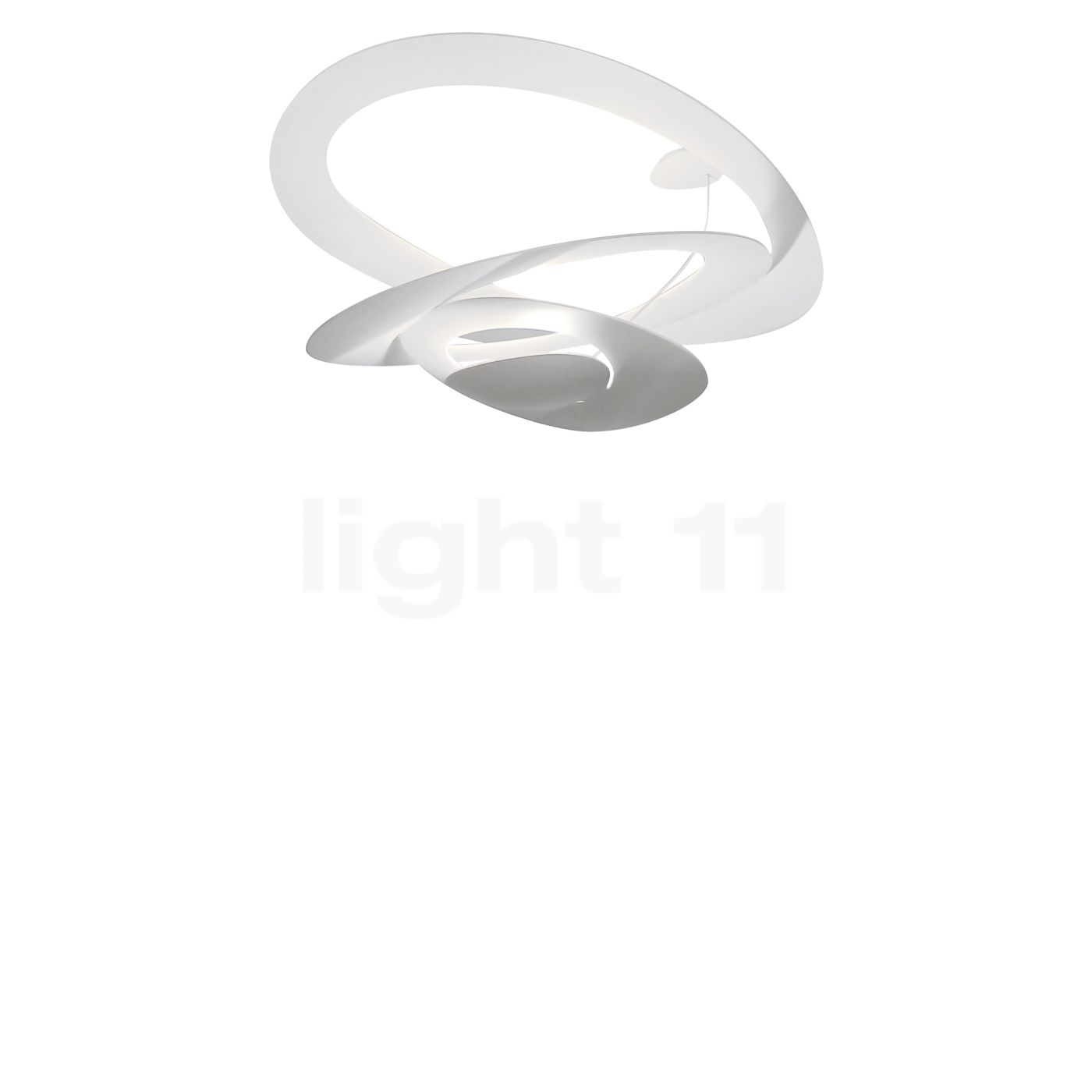 Lampe Artemide Artemide Pirce Mini Soffitto Led For Trailing Edge Dimmers