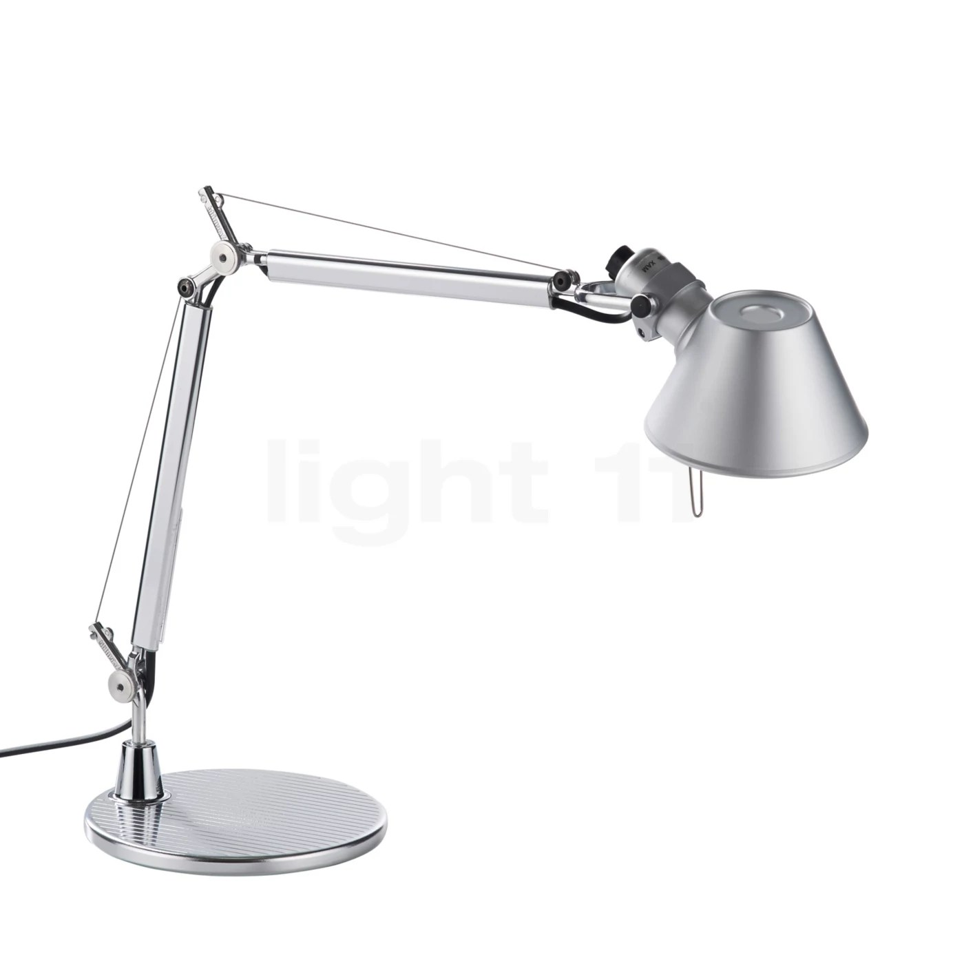 Artemide Schreibtischlampe Tolomeo Micro With Base By Artemide Buy It At Light11 Eu