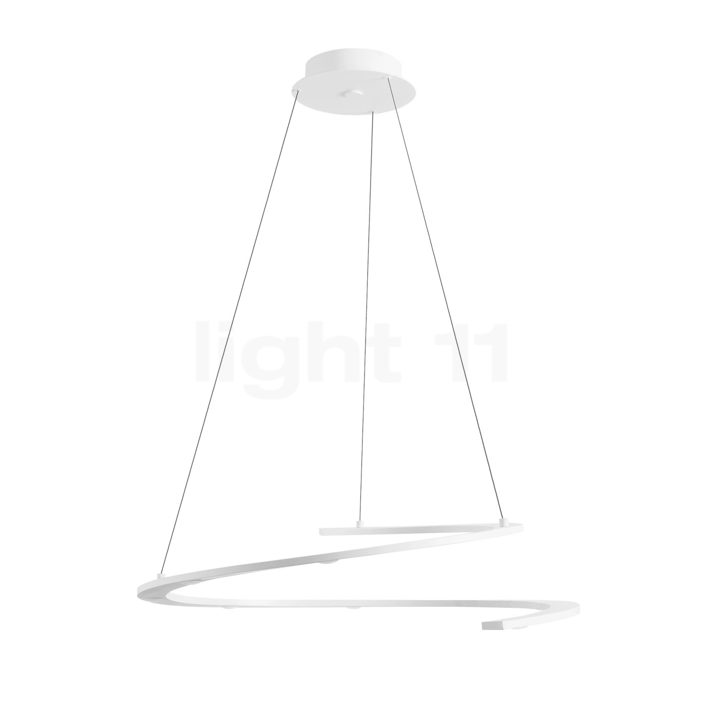 Suspension Ronde Blanc