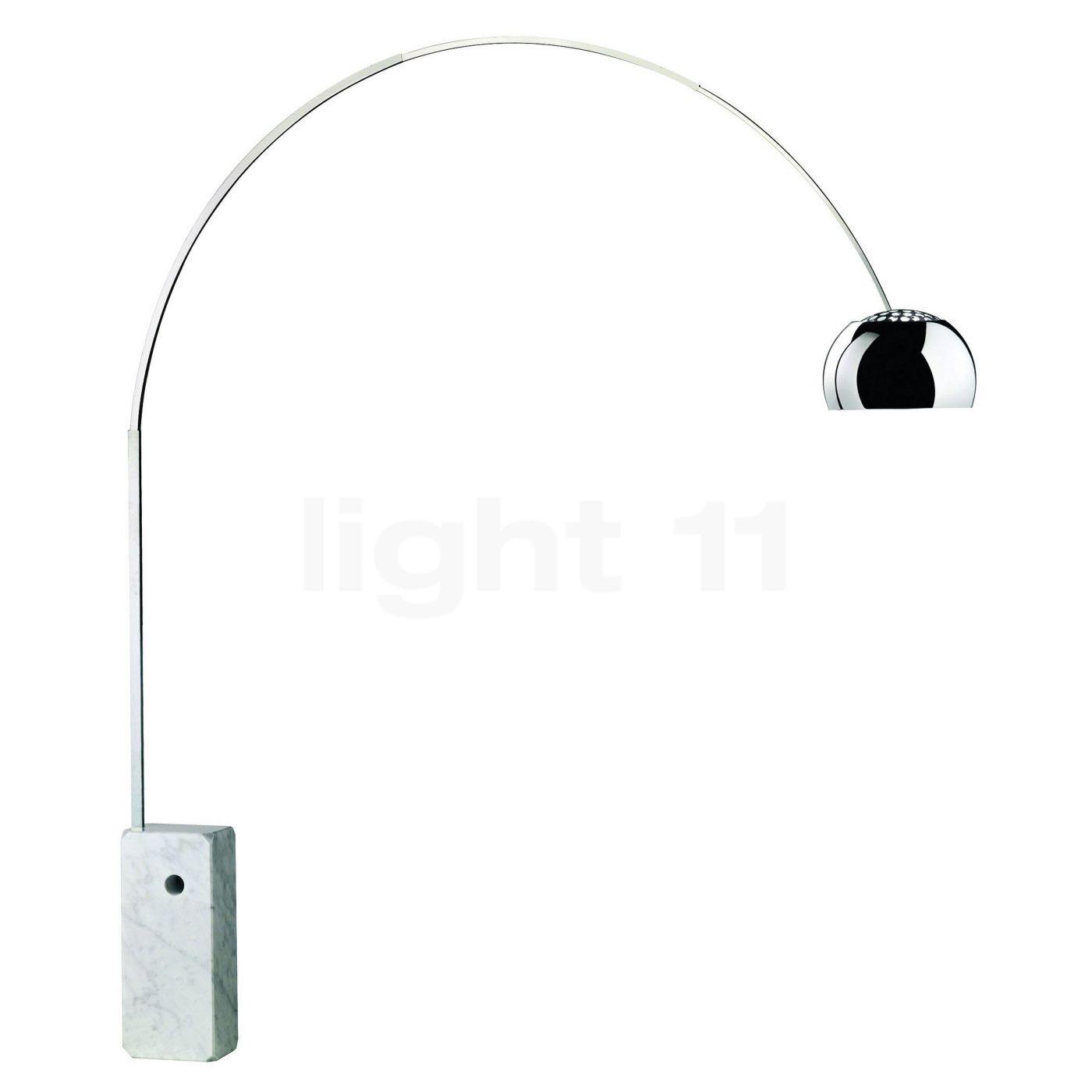 Led White Flos Arco Led
