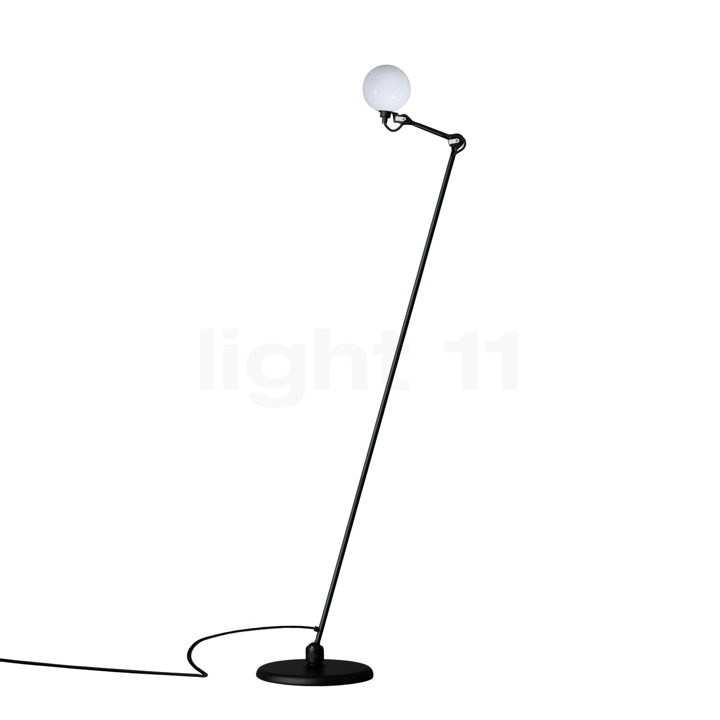 Lampe Ball Buy Dcw Lampe Gras No 230 Glass Ball Floor Lamp At