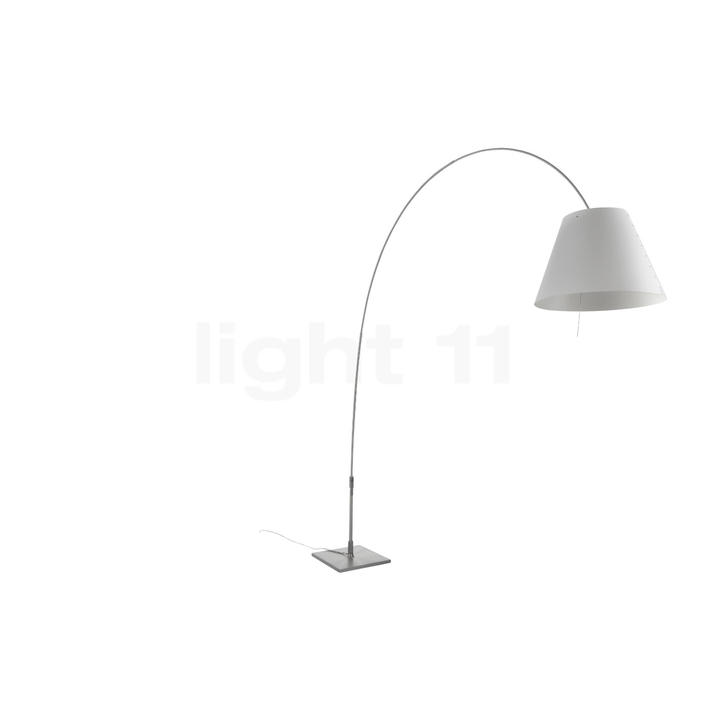 Bogenlampe Costanza Buy Luceplan Lady Costanza With Aluminium Stem And Touch Dimmer At