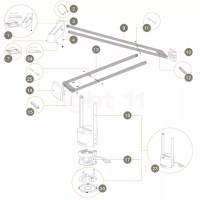 Buy Artemide Spare parts for Tizio Plus at light11.eu