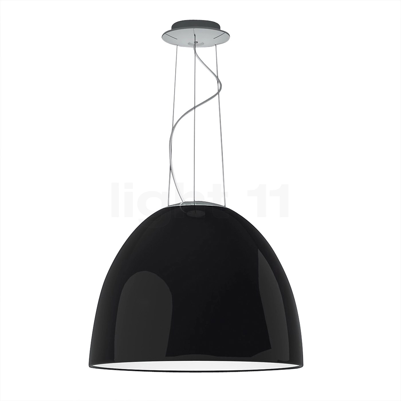 Artemide Nur Mini Artemide Nur Mini Gloss Halo Pendant Lights Buy At Light11.eu
