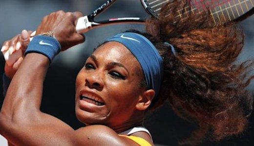 WTA Rome - Williams, quatre à la suite