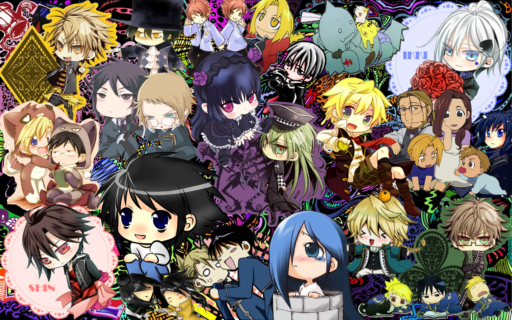 Noragami Hd Wallpaper Another Anime Collage L30 Bask3rvill3