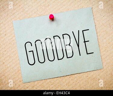 goodbye note efficiencyexperts - goodbye note