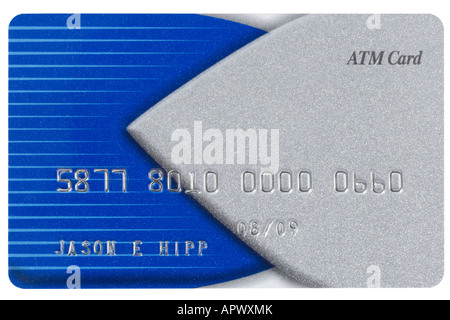 Blue credit card with fake numbers Stock Photo 15863371 - Alamy