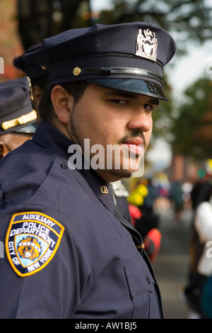 Auxiliary Police Officer of NYPD on duty at the 2006 Ing New York