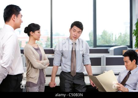 Informal business team meeting Stock Photo 37502769 - Alamy