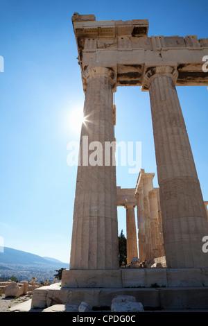 The Parthenon on the Acropolis, UNESCO World Heritage Site, Athens