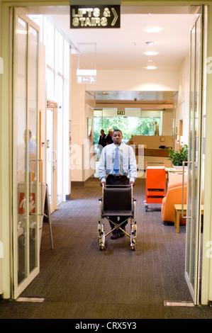 Hospital porter Stock Photo 67537477 - Alamy