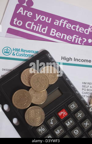 High income child benefit charge form Stock Photo 54087791 - Alamy