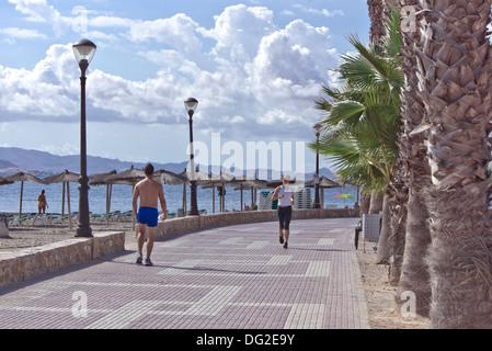 The Promenade Along The Beach At Los Alcazares Murcia