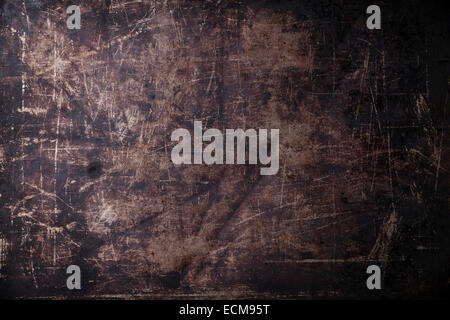 Old scratched black dark background texture Stock Photo 280723873