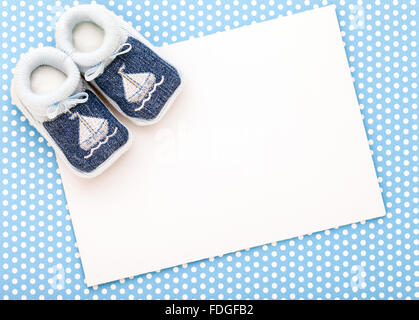 baby announcement card Stock Photo 62590988 - Alamy