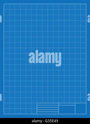 Drafting Blueprint, Grid, Architecture Stock Vector Art