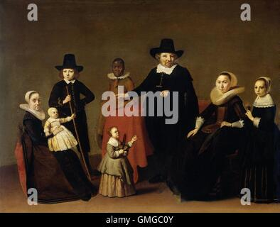 Group Portrait Of Black Family Boys And Girls Smiling