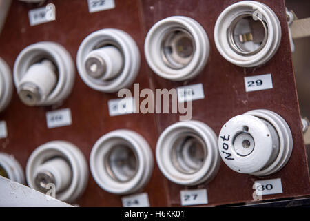 old ceramic fuse Stock Photo 283384861 - Alamy