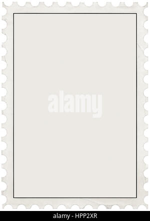 Blank Postage Stamp Stock Photo 164296178 - Alamy - stamp template