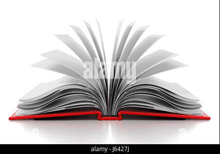 open book with blank pages icon image Stock Vector Art