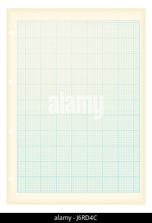 Math concept with sheet of blue graph paper background Stock Photo - math graph paper