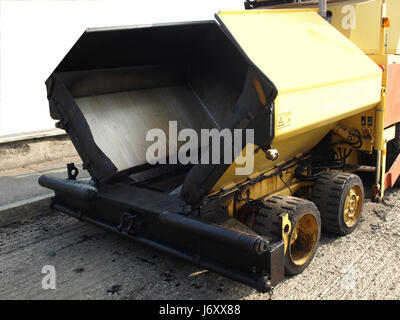 An asphalt machine for construction road works Stock Photo 43497720 - asphalting machine