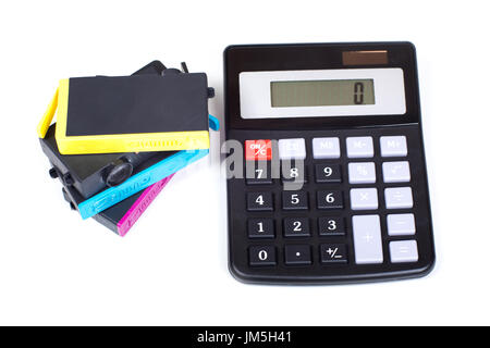 Simple yellow calculator on a white background Stock Photo 61892867 - simple credit card calculator