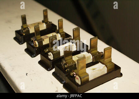 domestic electrical fuse box Stock Photo 152166834 - Alamy