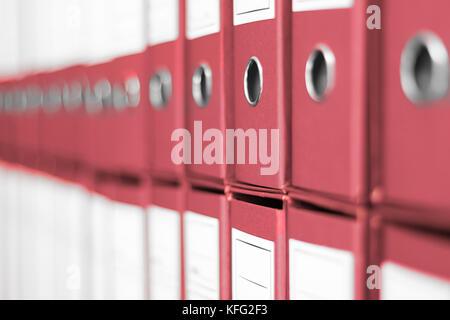 Ring Binders, File archive office shelf Stock Photo 164466402 - Alamy
