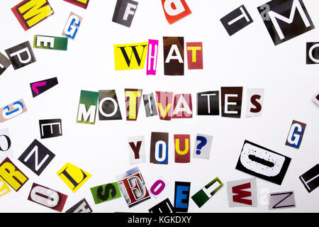 What Motivates You Concept Stock Photo 80109616 - Alamy - what motivates you