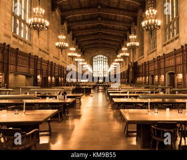University of Michigan Library Ann Arbor 1913 Stock Photo