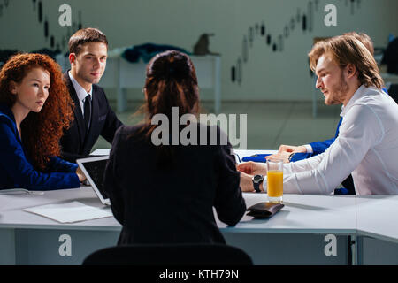 team leader and business owner leading informal in-house business