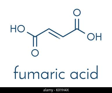 Fumaric acid molecule Found in bolete mushrooms, lichen and iceland