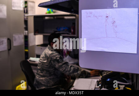 Staff Sgt Miguel Guajardo, 90th Medical Group NCO in charge of