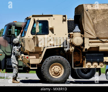 Army National Guard Soldiers enrolled in the 88M Motor Transport