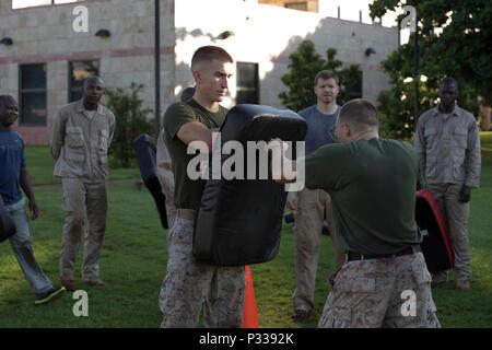 Marine Security Guard (MSG) Detachment Commander US Marine Corps