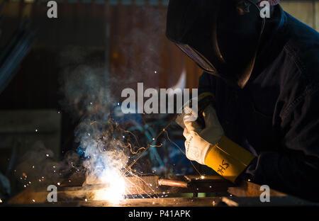 Kenny Mines, 11th Civil Engineer Squadron steel welder fabricator - welder fabricator