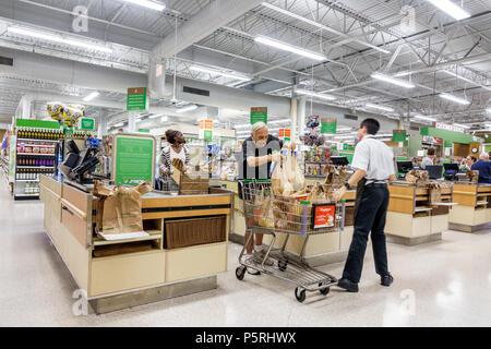 Stuart Florida Publix grocery store supermarket food interior