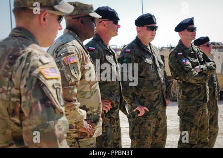 US Army Capt Ben Nygaard with the 2nd Battalion, 5th Cavalry