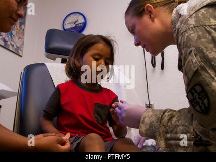 Capt Julie Birmingham, a medical-surgical nurse assigned to the