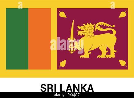 Srilanka Independence day design card vector Stock Vector Art