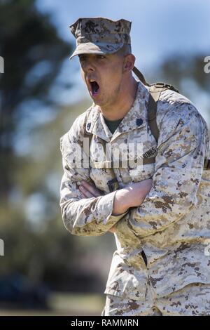 Staff Sgt Joshua T Seabol currently serves as a Marine Corps