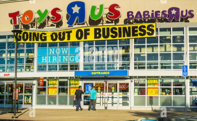 Toys R Us Store In San Jose California Stock Photo