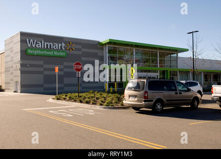 Walmart Neighborhood Market at Myrtle Beach, South Carolina USA